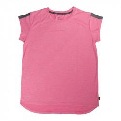 Детска Тениска MORE MILE Girls Cap Short Sleeve Running Top