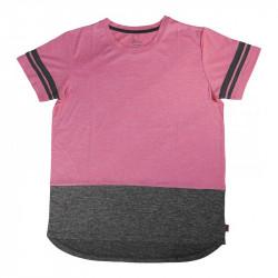 Детска Тениска MORE MILE Marl Girls Short Sleeve Running Top