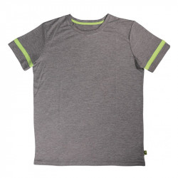Детска Тениска MORE MILE Marl Boys Short Sleeve Running Top