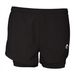 Дамски Къси Панталони MORE MILE Conquer 2in1 Running Shorts