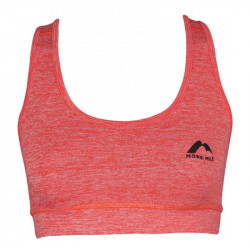 Дамско Бюстие MORE MILE Train To Run Womens Running Crop Top