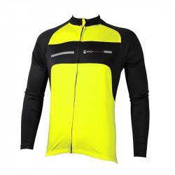 Мъжки Суичър За Колоездене MORE MILE Long Sleeve Cycling Jersey