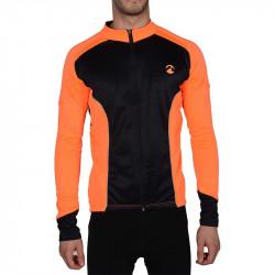 Мъжки Суичър MORE MILE Piu Miglia Thermal Long Sleeve Mens Cycling Jersey