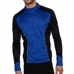 Мъжки Суичър MORE MILE Piu Miglia Thermal Long Sleeve Mens Cycling Jersey