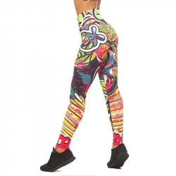 Дамски Клин EX FIT Sport Legging Graffiti
