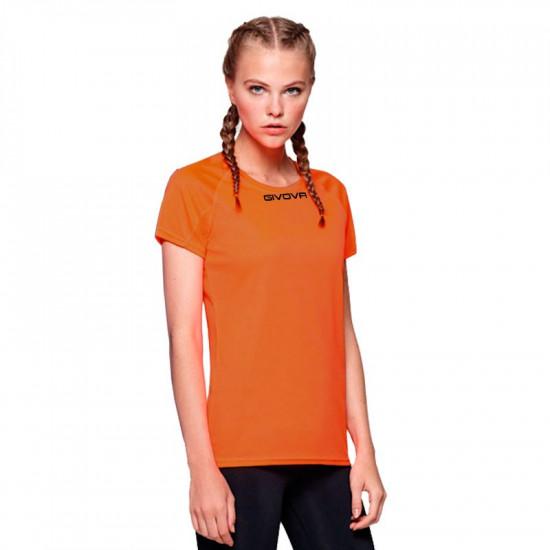 Дамска Тениска GIVOVA Shirt One ML 0001