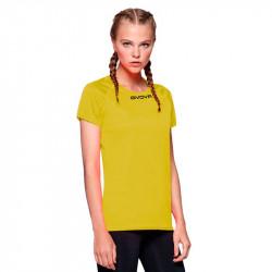 Дамска Тениска GIVOVA Shirt One ML 0007