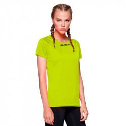 Дамска Тениска GIVOVA Shirt One ML 0019