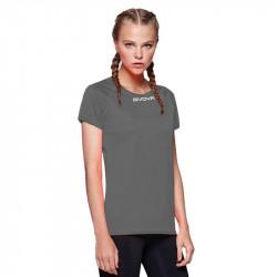 Дамска Тениска GIVOVA Shirt One ML 0023