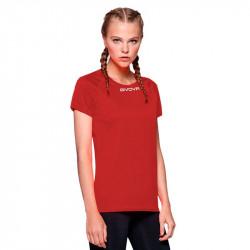 Дамска Тениска GIVOVA Shirt One ML 0012