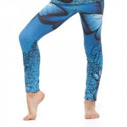 Детски Клин EX FIT Kids Legging Blue Butterfly