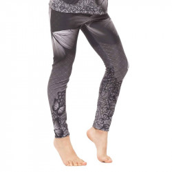 Детски Клин EX FIT Kids Legging Grey Butterfly