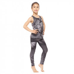 Детски Комплект Клин / Топ EX FIT Kids Sport Kit Gray Butterfly