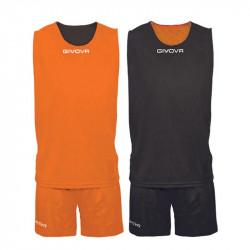 Двулицев Баскетболен Екип GIVOVA Kit Double 0110