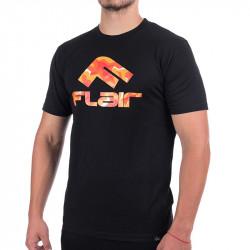 Мъжка Тениска FLAIR Fire Camo Logo T-Shirt