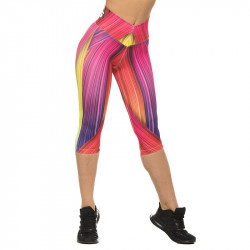 Дамски Клин EX FIT 3/4 Colorful Muscle