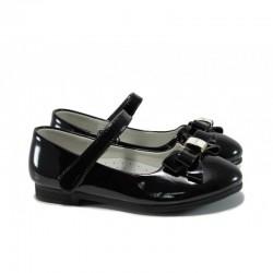 Анатомични лачени детски обувки КА M03 черен 26/30 | Детски обувки