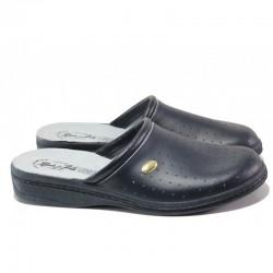 Анатомични мъжки домашни чехли Spesita 17-163 черен | Домашни чехли