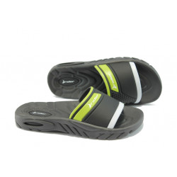 Детско-юношески анатомични чехли с цяла лента Rider 81285 черни 31/38