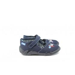 Анатомични детски обувки МА 13-105-16 т.син самолет 19/27