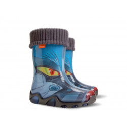Детски гумени ботуши с топъл свалящ се чорап Demar 0032 трансформърс 20/27 | Гумени ботуши