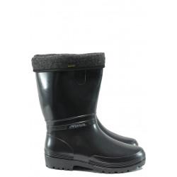 Гумени ботуши с топъл свалящ се чорап Demar 0052 черен 36/41 | Гумени ботуши