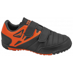 Летни детски маратонки с лепенки ГК 30208-1 черен-оранж 30/35 | Детски маратонки