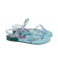 Анатомични детски бразилски сандали Ipanema 81930 св.син 25/30   Бразилски чехли и сандали