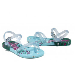 Анатомични детски бразилски сандали Ipanema 81930 син 31/35 | Бразилски чехли и сандали
