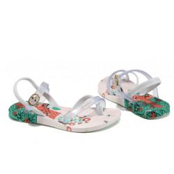 Анатомични детски сандали Ipanema 81930 бял 25/30 | Бразилски чехли и сандали