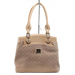 Българска дамска чанта СБ 1177 розов букви | Дамска чанта