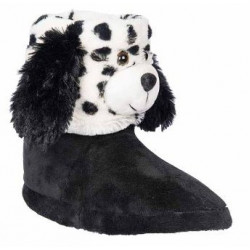 Дамски домашни пантофи АБ 65030 черен | Домашни чехли и пантофи