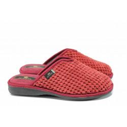 Анатомични дамски домашни чехли Spesita 17-160 бордо | Домашни чехли