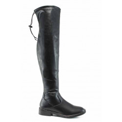 Дамски ботуши тип чизми S.Oliver 5-25606-29 черен | Немски ботуши
