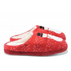 Анатомични дамски домашни чехли РС 172-1032 червен | Домашни чехли