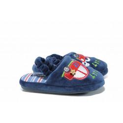 Анатомични детски домашни чехли РС 1601173 син кола 30/35 | Домашни чехли и пантофи