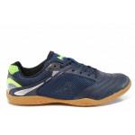 Юношески спортни обувки АБ 170615 син-зелен | Футболни обувки