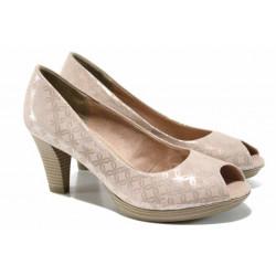 Елегантни дамски обувки Marco Tozzi 2-29302-20 розов | Немски обувки на ток