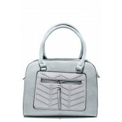 Ежедневна дамска чанта с модерна визия ФР 6687 син | Дамска чанта