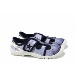Анатомични детски обувки МА SATURN син 31/35 | Домашни пантофки