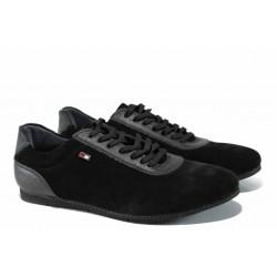 Мъжки спортни обувки с FLEX система ЛД 208 черен | Мъжки ежедневни обувки
