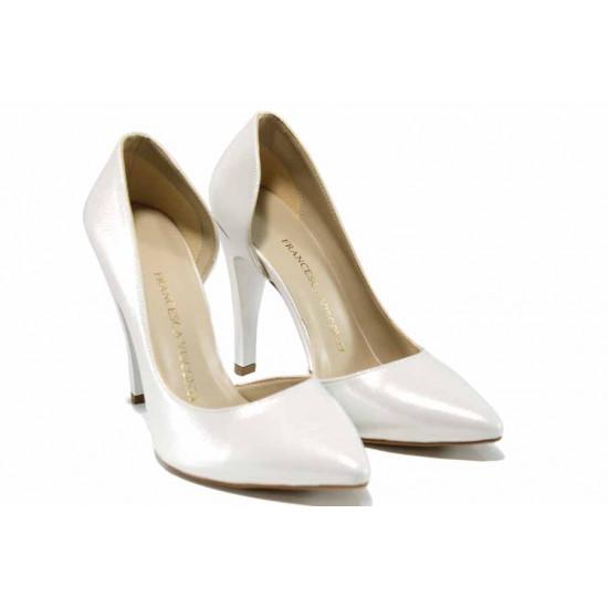Елегантни дамски обувки МИ 560 св.сребро | Дамски обувки на висок ток