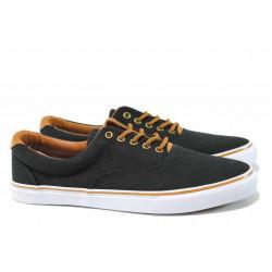 Мъжки спортни обувки АБ 18-65 черен | Мъжки ежедневни обувки
