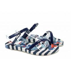 Анатомични детски сандали Ipanema 82292 син-бял 28/35 | Бразилски чехли и сандали