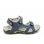 Анатомични детски сандали АБ 1622 син 32/36 | Детски чехли и сандали