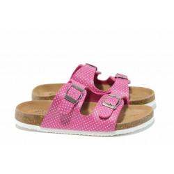 Анатомични детски чехли АБ 17-18 циклама 32/36 | Детски чехли и сандали