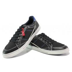 Мъжки спортни обувки на комфортно ходило S.Oliver 5-13603-21 черен | Мъжки немски обувки
