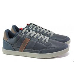 Мъжки кецове с еластично ходило S.Oliver 5-13636-21 син | Немски мъжки обувки