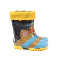 Детски ботуши с топъл свалящ се чорап Demar 0039 момиче 28/35 | Гумени ботуши