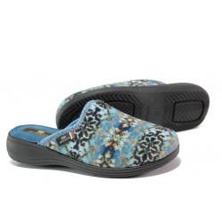 Анатомични български чехли Spesita 352 син | Дамски домашни чехли